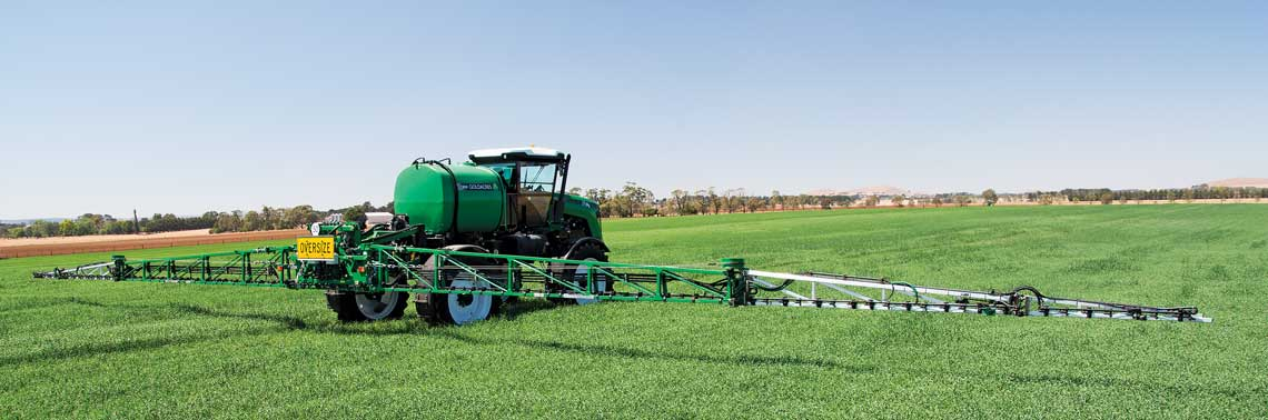 A sprayer is only as good as its boom