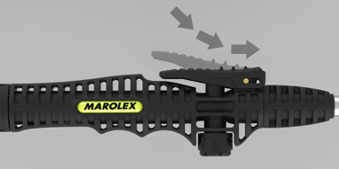 Trigger on/off valve